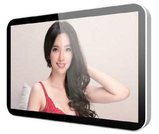 Ultra Slim Advertising LCD Digital Signage Infrared Multi-Point Touch Panel