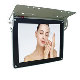 MP3 JPG MPEG1 LCD Bus Digital Signage 15 Inch , Indoor 3G Advertising Display