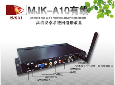 HD network Media Player Box WMA Pro AAC Audio , ARM Based Multimedia Processor