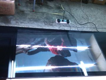 China AUO 3G LCD Transparent Display 50 Inch / High Contrast Transparent LCD Panel factory
