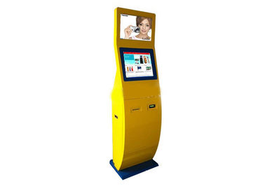 High Precision Interactive Touch Screen Kiosk / Four Core LCD Digital Signage