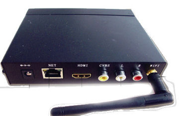 custom Quad Core HD Media Player Box RoHS FCC For Financial Organizations , MPG MPEG VOB