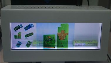 Full HD 1080P Flexible Transparent LCD Display 47 Inch For Acrylic Cooler Door , MPEG1 / MPEG2