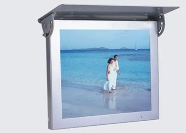 "High Resolution 15""  LCD Advertising Player With HD Video , 6V - 36V DC"