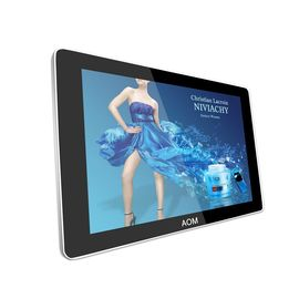 "42"" horizontal LCD Digital Signage Display Screen , 600cd/m2 Brightness"