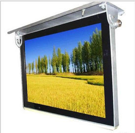 Shock Proof 24 Inch Bus Digital Signage Roof Mount With Inside Power Amplifier