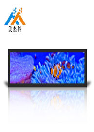 Stretch Bar LCD Advertising Display 28 Inch 700cd Brightness Wide Viewing Angle