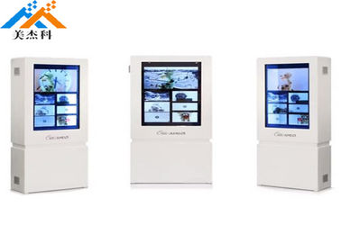 China Android Box Transparent Lcd Panel Window Display 22 Inch Lcd Digital Signage factory
