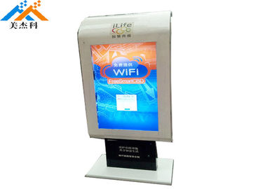 China 43 Inch Floor Standing Digital Signage Lcd Advertising Totem Kiosk Hd Display factory