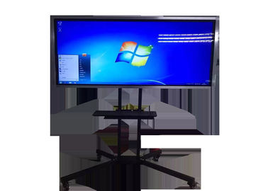 Tempered Glass Screen LCD Digital Signage Display Multimedia Interactive Whiteboard