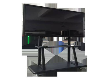 "China 65"" 75"" 85"" Free Standing Lcd Display Window 10 OS All Ine One PC For School Teaching factory"