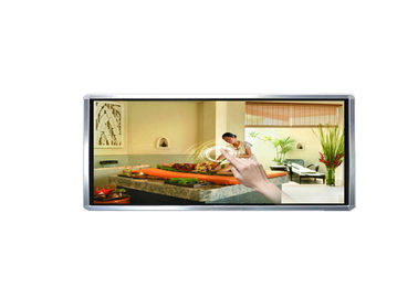 Wall Mounted Touch Screen 3D Digital Signage TFT LED Screen 178° Viewing Angle