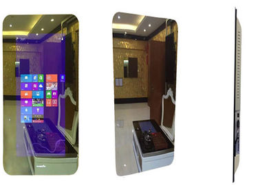 China MJK Smart Magic Mirror Display Touch All In One Digital Board 500cd/m2 Brightness factory