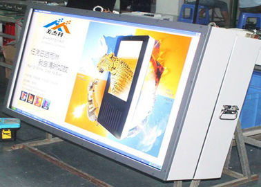 21.5inch waterproof IP65 outdoor digital signage wall mount advertising touch screen player