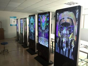 HD Free Standing Digital Signage For Shopping Mall Digital Advertising Display