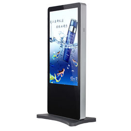 "46"" Floor Standing Touch Screen Advertising Digital Signage Display"