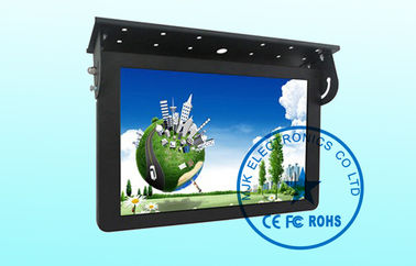 PAL NTSC Auto 19 Inch LCD Bus Digital Signage Screen LED backlight , Public LCD Advertising Display