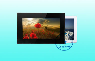 Ultra-Slim LCD Touch Screen Digital Signage Display 800 x 600 Resolution
