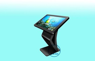 WIFI K - Shape Intel I3 / I5 / I7 Digital Signage Kiosk With Win 7, Low Power Consumption