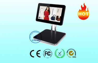 Floor Standing LCD Kiosk Dual Core / wireless touch screen monitor