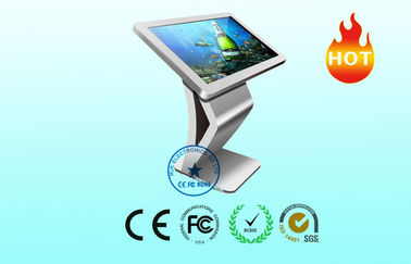 Full HD Touch Screen Kiosk LCD Display For Lobby , Water resistance